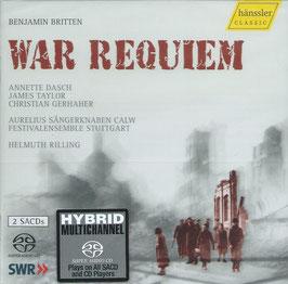 Benjamin Britten: War Requiem (2SACD, Hänssler)