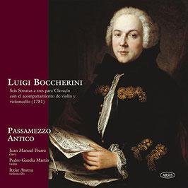 Luigi Boccherini: Seis Sonatas a tres para Clavecin con el acompanamiento de violin y violoncello 1781 (Arsis)