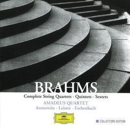 Johannes Brahms: Complete String Quartets, Quintets, Sextets (5CD, Deutsche Grammophon)