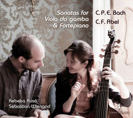 Carl Philipp Emanuel Bach, Carl Friedrich Abel: Sonatas for Viola da gamba & Fortepiano