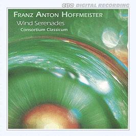 Franz Anton Hoffmeister: Wind Serenades (CPO)