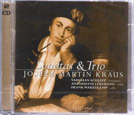 Joseph Martin Kraus: Sonatas & Trio (2CD, Challenge Fineline)