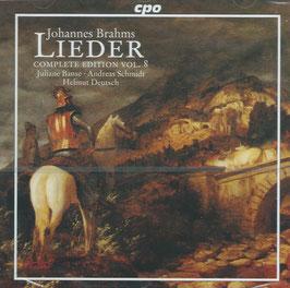 Johannes Brahms: Lieder, Complete Edition Vol. 8 (CPO)