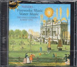 Georg Friedrich Händel: Fireworks Music, Water Music (Hyperion Helios)