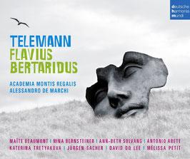 Georg Philipp Telemann: Flavius Bertaridus (3CD, Deutsche Harmonia Mundi)