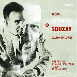 Récital, Airs Anciens d'Italie et d'Espagne, Lieder de Franz Liszt (Claves)