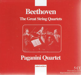 Ludwig van Beethoven: The Great String Quartets (5CD, United Archives)
