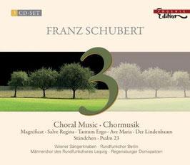 Franz Schubert: Choral Music, Geistliche Chormusik, Weltliche Chormusik (3CD, Phoenix)