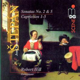 Josef Antonin Stepán: Sonatas No. 2 & 5, Capriccios 1-5 (MDG)