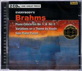 Johannes Brahms: Piano Concertos No. 1 & No. 2, Variations on a Theme by Haydn, Solo Piano Pieces (2CD, Telarc)