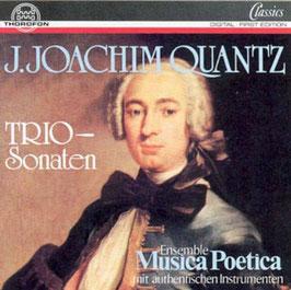 Johann Joachim Quantz: Trio-Sonaten (Thorofon)