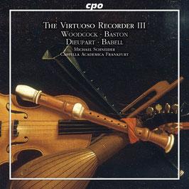 The Virtuoso Recorder III, Concertos of the English Baroque (CPO)