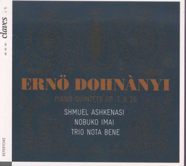 Ernó Dohnányi: Piano Quintets Op. 1 & 26 (Claves)