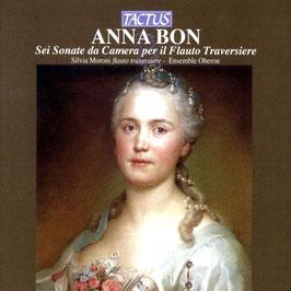Anna Bon: Sei Sonate da Camera per il Flauto Trversiere (Tactus)