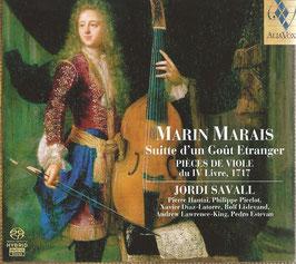 Marin Marais: Suitte d'un Gout Etranger, Pièces de Viole du IV Livre, 1717 (2SACD, Alia Vox)