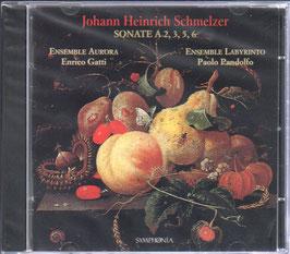 Johann Heinrich Schmelzer: Sonate a 2, 3, 5, 6 (Symponia)