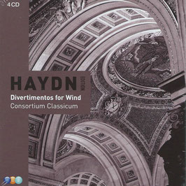 Joseph Haydn: Divertimentos for Wind (4CD, Warner)