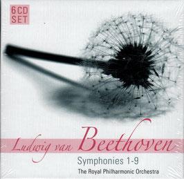Ludwig van Beethoven: Symphonies 1-9 (6CD, Membran)
