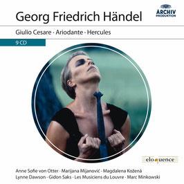 Georg Friedrich Händel: Giulio Cesare, Ariodante, Hercules (9CD, Archiv)
