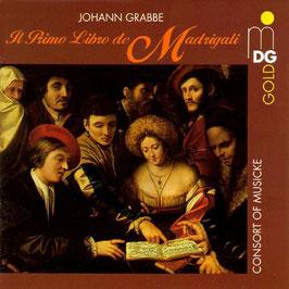 Johann Grabbe: Il Primo Libro de Madrigali (MDG)