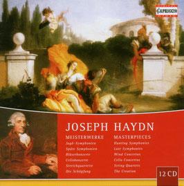 Franz Joseph Haydn: Masterpieces (12CD, Capriccio)