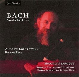 Johann Sebastian Bach: Works for Flute (Quill)