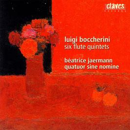 Luigi Boccherini: Six Flute Quintets (Claves)