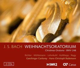 Johann Sebastian Bach: Weihnachtsoratorium (2CD, Carus)