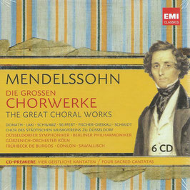 Felix Mendelssohn-Bartholdy: The Great Choral Works (6CD, EMI)