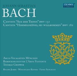 Johann Sebastian Bach: Cantatas BWV 131 & 182 (Oehms)