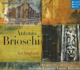 Antonio Brioschi: Sei Sinfonie (Deutsche Harmonia Mundi)