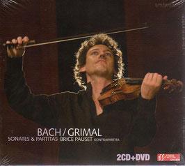 Johann Sebastian Bach: Sonates & Partitas, Brice Pauset: Kontrapartita (2CD, DVD, Ambroisie)