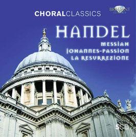 Georg Friedrich Händel: Messiah, Johannes-Passion, La Resurrezione (5CD, Brilliant)