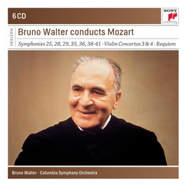 Wolfgang Amadeus Mozart: Bruno Walter conducts Mozart