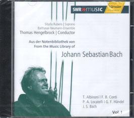 Johann Sebastian Bach: Aus der Notenbiblothek von Johann Sebastian Bach, Vol. I (Hänssler)