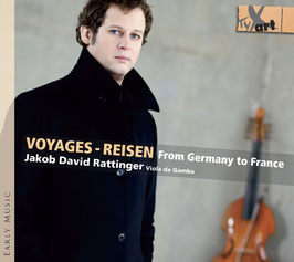 Voyages, Reisen from Germany to France: Abel, Marais, Telemann, Caix, Forqueray, Demachy, Bach (Tyx Art)
