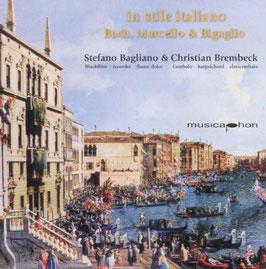 In stile italiano: Bach, Marcello & Bigaglio (Musicaphon)