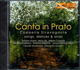 Canta in Prato: Songs, dances & arias (Profil)