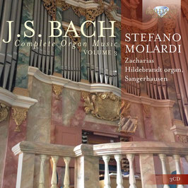 Johann Sebastian Bach: Complete Organ Music, Volume 3 (3CD, Brilliant)
