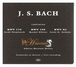 Johann Sebastian Bach: Cantatas BWV 170, 199, 82 (Arsis)
