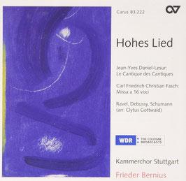 Jean-Yves Daniel-Lesur: Le Cantique des Cantiques, Carl Friedrich Christian Fasch: Missa a 16 voci (Carus)