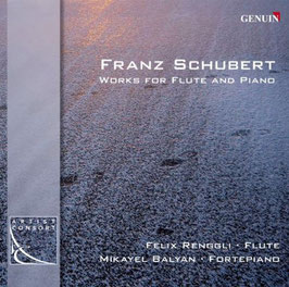 Franz Schubert: Works for FLute and Piano (Genuin)