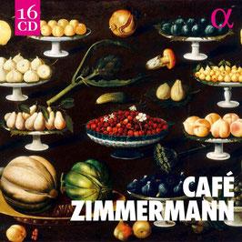 Café Zimmermann: Johann Sebastian Bach, Carl Philipp Emanuel Bach, Antonio Vivaldi, Charles Avison, Jean-Henry d'Anglebert (16CD, Alpha Outhere)