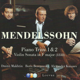 Felix Mendelssohn-Bartholdy: Piano Trios 1 & 2, Violin Sonata in F major 1838 (Warner)