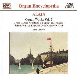 Jehan Alain: L'oeuvre d'orgue, volume 2 (Naxos)