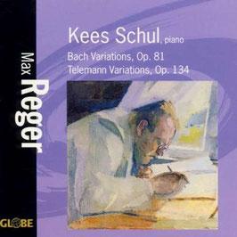 Max Reger: Bach Variations Op. 81, Telemann Variations Op. 134 (Globe)