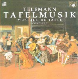Georg Philipp Telemann: Tafelmusik complete (4CD, Brilliant)