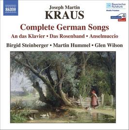 Joseph Martin Kraus: Complete German Songs (Naxos)
