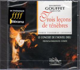 Jean-Baptiste Gouffet: Trois leçons de ténèbres (Pierre Verany)