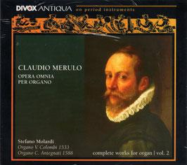 Claudio Merulo: Opera Omnia per Organo, vol. 2 (2CD, Divox)